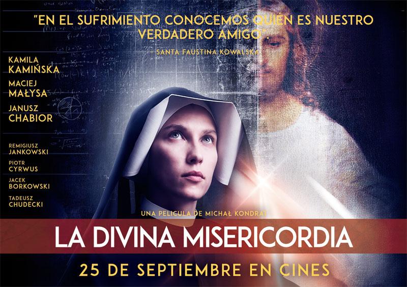 La Divina Misericordia- Estreno el 25 de Septiembre en Cines