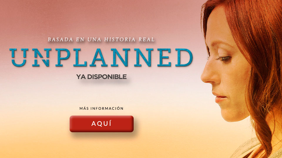 UNPLANNED YA DISPONIBLE